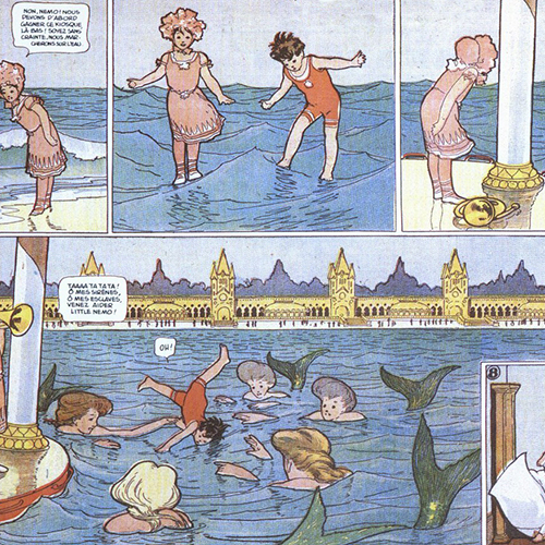 Winsor McCay. Little Nemo in Slumberland (1905-1914)