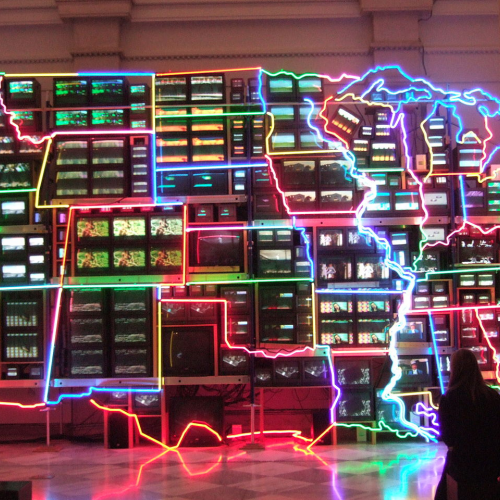 Nam June Paik's Electronic Superhighway